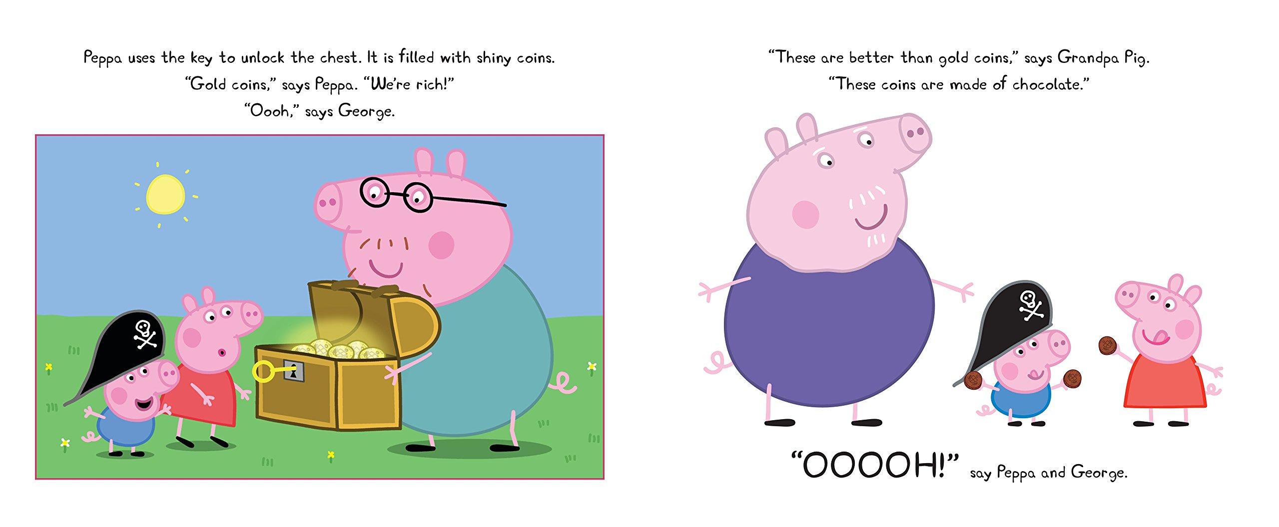 Peppa Pig and the Treasure Hunt: Candlewick Press: 9780763677039 ...