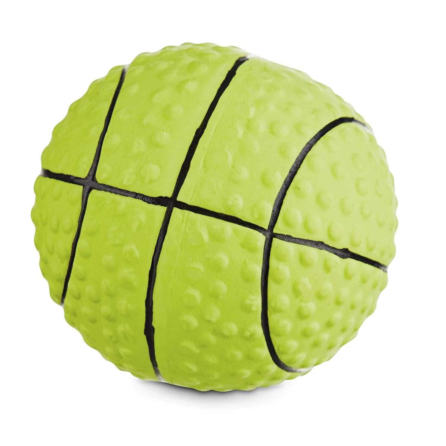 Leaps & Bounds Chomp and Chew Sports Ball Assorted Dog Toy, X-Small