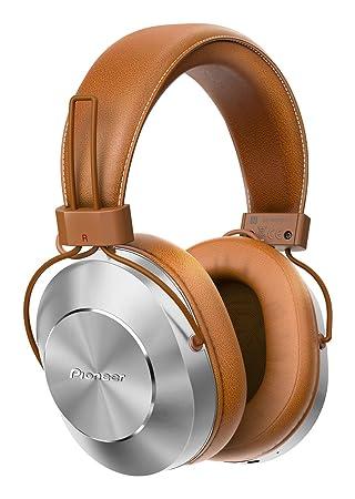 c98cd3080bb Pioneer SE-MS7BT-T - Auriculares de Tipo Diadema (Bluetooth, Hires, Power  Bass, NFC), Color marrón: Amazon.es: Electrónica