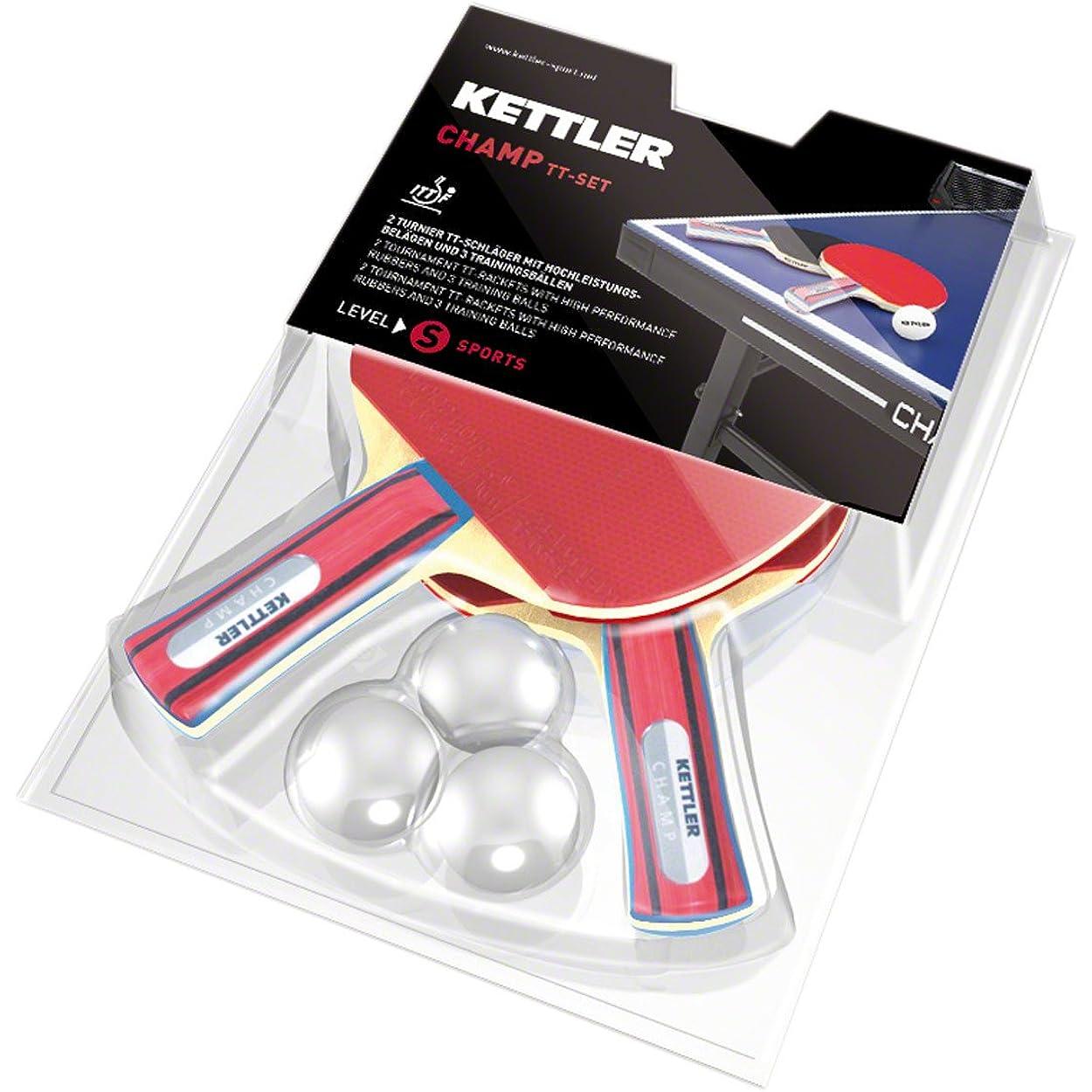 Gute Tennisschläger werden von der Marke Kettler hergestellt.