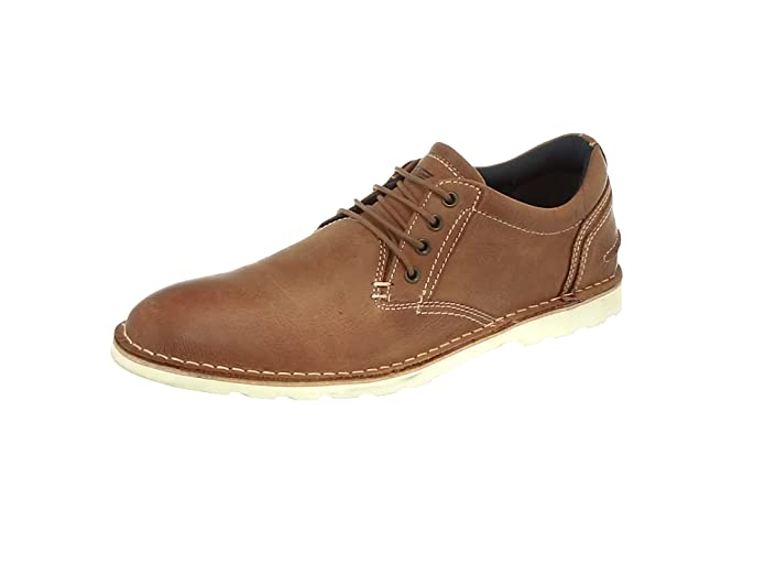 TALLA 41 EU. Red Tape Broxton, Zapatos de Cordones Derby para Hombre