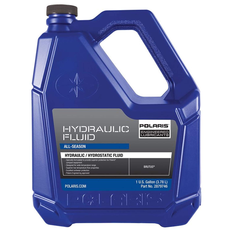Amazon com: Polaris New OEM Brutus Hydraulic Fluid Oil Gallon