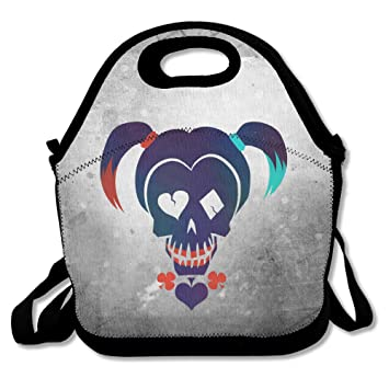 Bakeiy Suicide Squad Harley Quinn Lunch Tote Bag Lunch Box Neoprene Tote For Kids And Adults  sc 1 st  Amazon.ca & Bakeiy Suicide Squad Harley Quinn Lunch Tote Bag Lunch Box ... Aboutintivar.Com