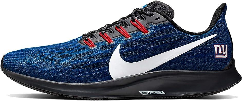 Nike New York Giants Air Zoom Pegasus 36 - Zapatillas de Running para Hombre, Azul (Azul/Blanco/Negro), 43 EU: Amazon.es: Zapatos y complementos