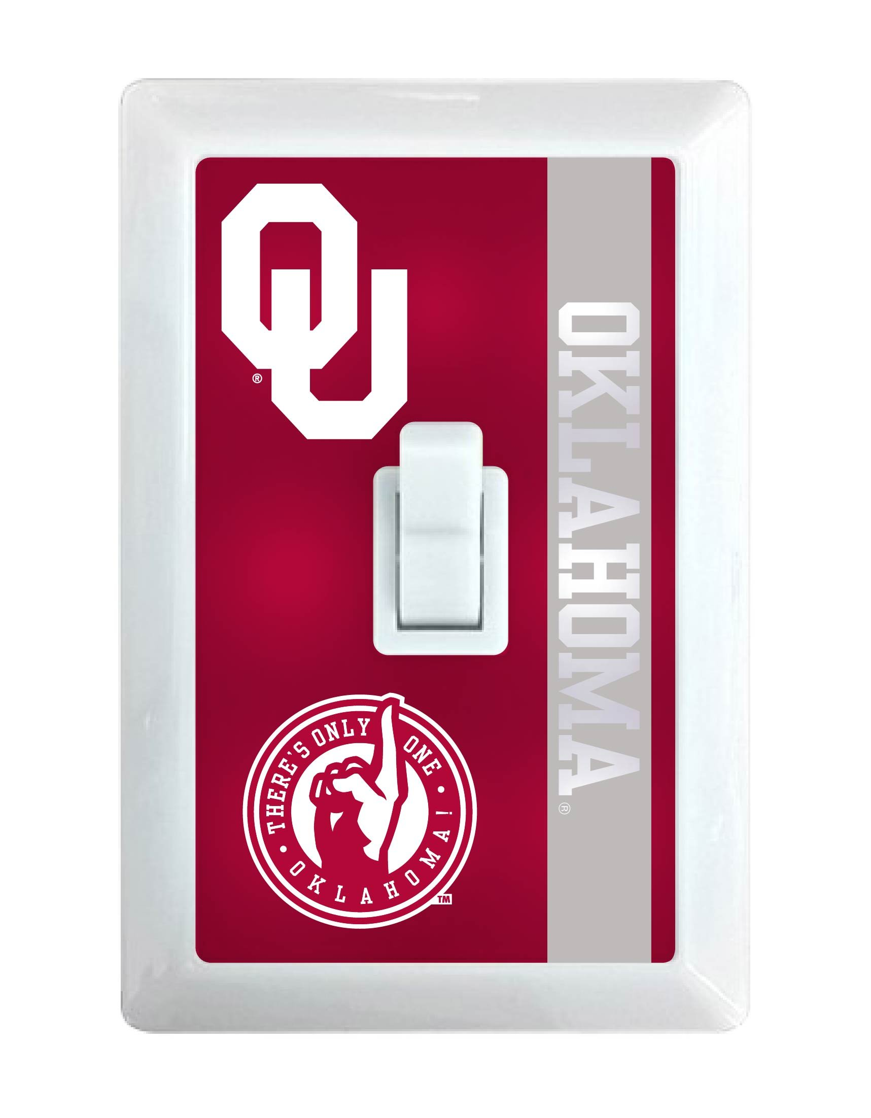 Oklahoma Sooners LED Light switch