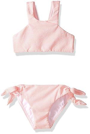 ee4a96bf98cd0 Amazon.com: Seafolly Little Girls' Cute D'azure Stripe Tankini ...