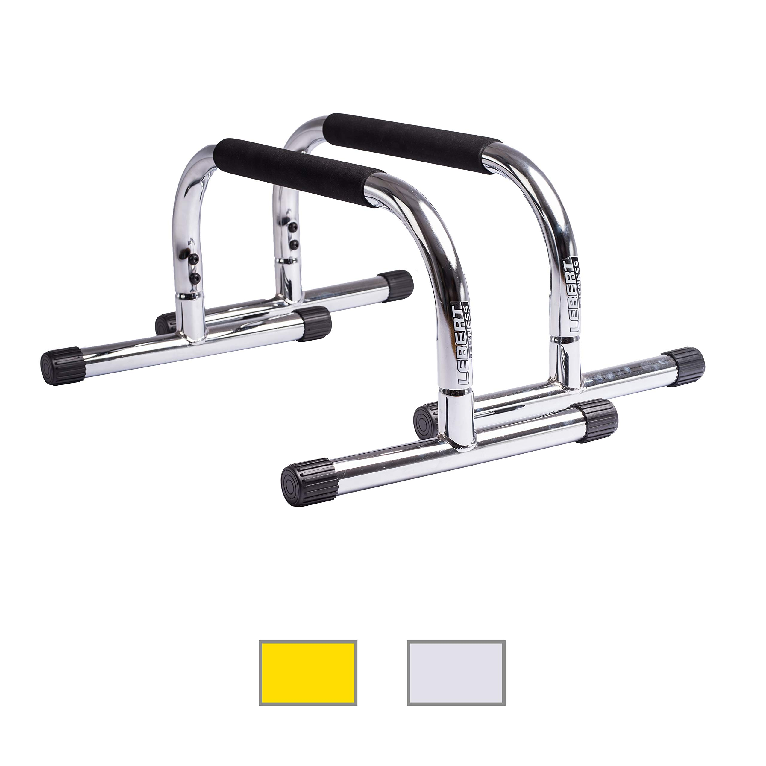 Lebert Fitness Parallettes, Frank Medrano Signature, Chrome