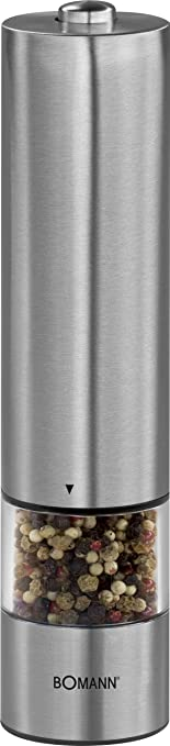 14 opinioni per Bomann PSM 437 N CB- pepper/salt grinders (AA Mignon/LR/AM3, Stainless steel)