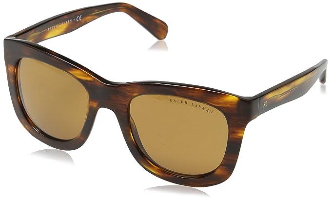 Ralph Lauren Damen Sonnenbrille 0Rl8137 500773 51, Braun (Stripped  Havana Brown) 5a064b285de0