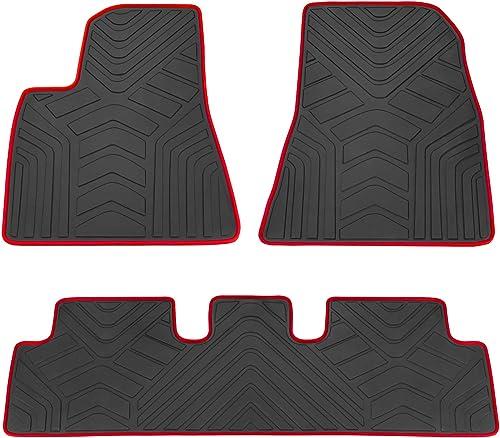 San Auto Car Floor Mats Custom Fit for Tesla Model 3
