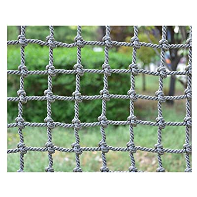 Climbing  Rope  Net,Climbing Net for Kids Adult Playground Tree Nylon Play Giant Mesh  Heavy  Duty Cargo Toddler Climbing Climb Net Netting Nets for Adults Outdoor Swing Set Swingset Ladder Toys: Sports & Outdoors
