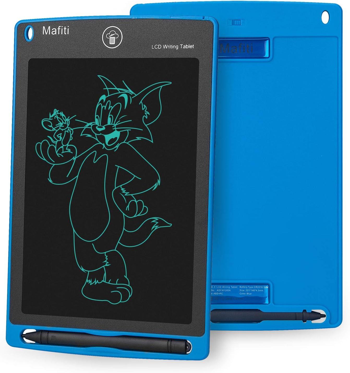 Mafiti 8,5 Pulgadas Tableta Gráfica, Tablets de Escritura LCD, Portátil Tableta de Dibujo Adecuada para el hogar, Escuela, Oficina