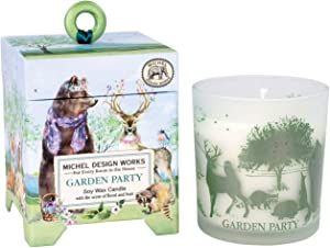 Michel Design Works 6.5 oz Soy Wax Candle, Garden Party