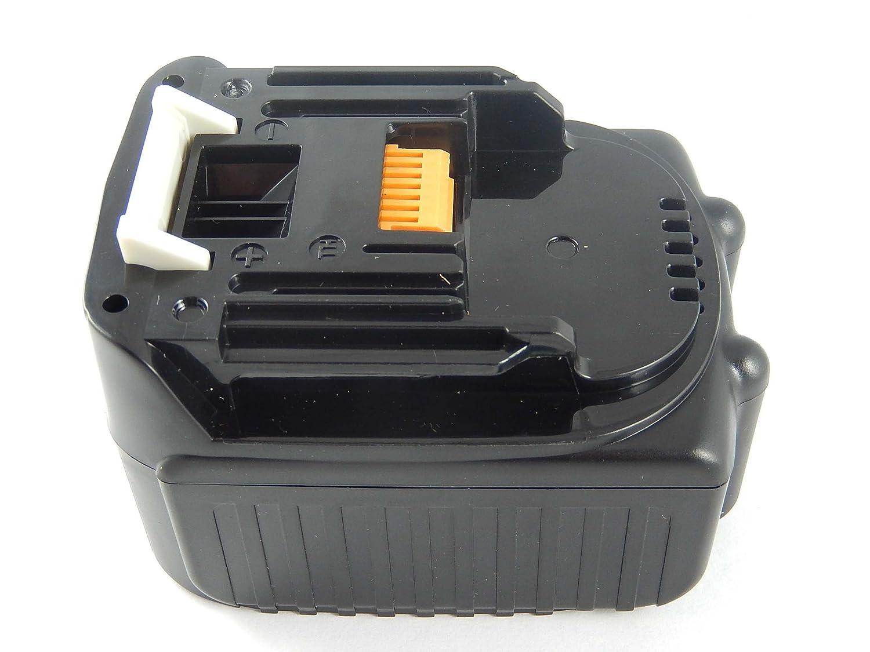 INTENSILO Li-Ion Batteria 5000mAh per utensile elettrico Makita TD134DRFX, TD134DRFXB, TD134DRFXL, TD134DRFXP sostituisce BL1430, 194065-3, JT6226.