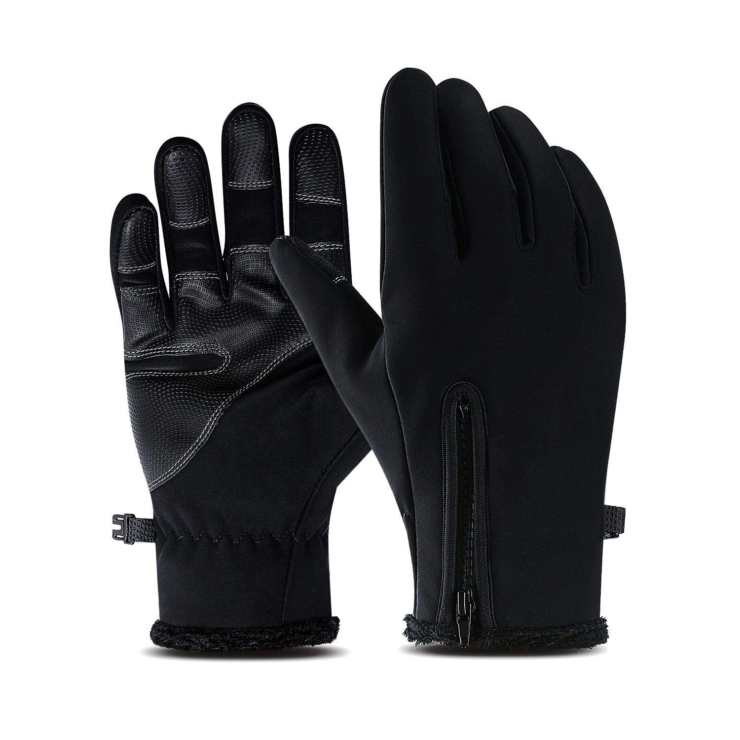 Winter Warm Gloves Touch Screen Waterproof Anti-slip*For Driving Sports Cycling