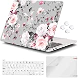 iCasso Case Compatiable with MacBook Pro 16 Inch 2019 Release A2141,Slim Protective Cover with Keyboard Cover & Screen Protec