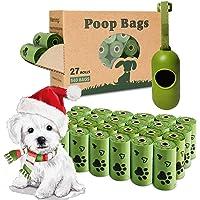 Yingdelai Dog Poop Bags, 540 Counts Poop Bags Biodegradable Eco-Friendly Leak-Proof Dog Waste Bags with 1 Dispenser Poop…