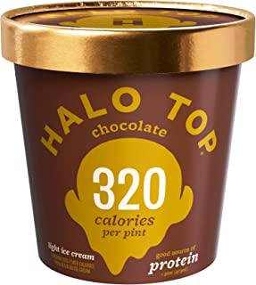 product image for Halo Top, Chocolate Ice Cream, Pint (Pack of 8)
