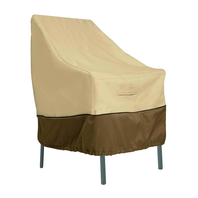 Amazon Com Classic Accessories Veranda High Back Patio Chair Cover
