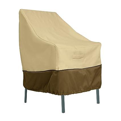 amazon com classic accessories veranda high back patio chair cover rh amazon com cheap patio set covers cheap patio set covers