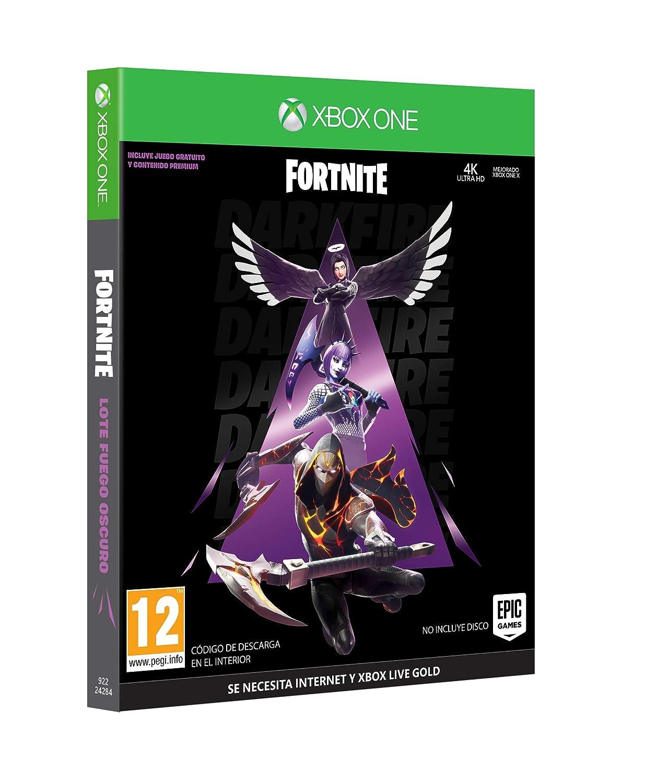 Fortnite: Lote Fuego Oscuro (Esta caja contiene código de ...