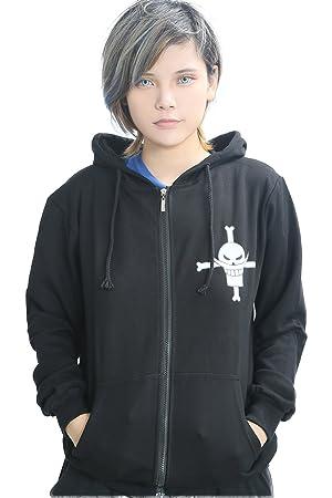 Hoodie Cosplay Anime Whitebeard Motif Vêtements Costume Homme Cotton Zip Up  Veste Sweatshirt fe3611a8e25