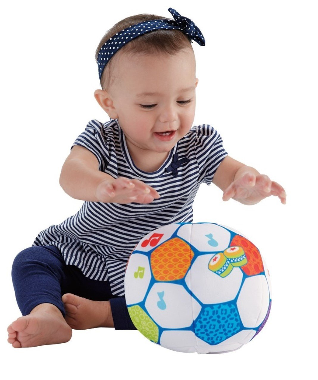 Fisher-Price First Steps Move 'n Groove Soccer Ball Fisher Price CJT74