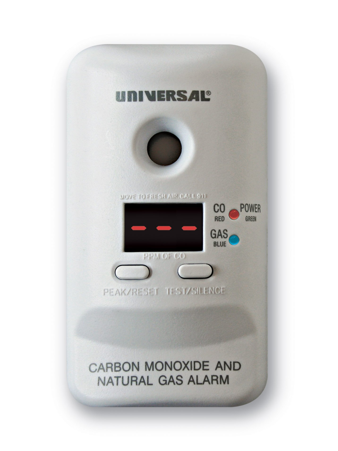 Universal Security Instruments MCND401 M Series Plug-In Carbon Monoxide and Natural Gas Alarm with 9-Volt Battery Backup by Universal Security Instruments