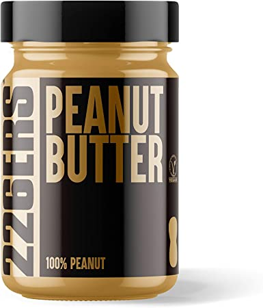 226ERS Peanut Butter, Mantequilla de Cacahuete Alta en Proteínas, Sin Gluten - 350 gr