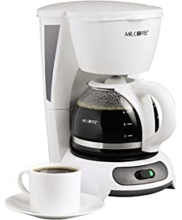 Mr. Coffee TF4 4-Cup Switch Coffeemaker White New
