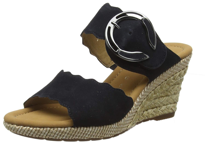 Gabor schuhe Comfort Sport, Mules para damen Blau (Pazifik (Bast) 26)