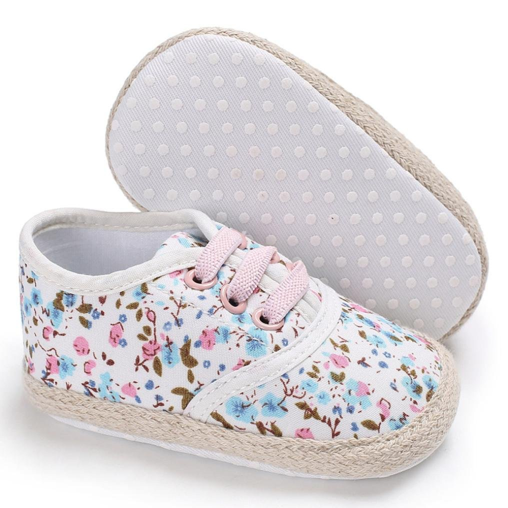 Toddler Girls Cute Shoe Soft Sole Flowers Anti-Slip Baby Boots Kids Sneaker First Walkers Warm Shoes