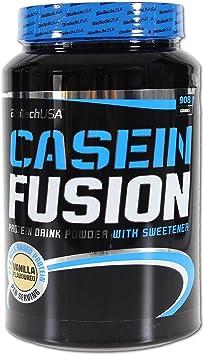 Biotech USA Casein Fusion Proteínas Sabor Vainilla - 908 gr