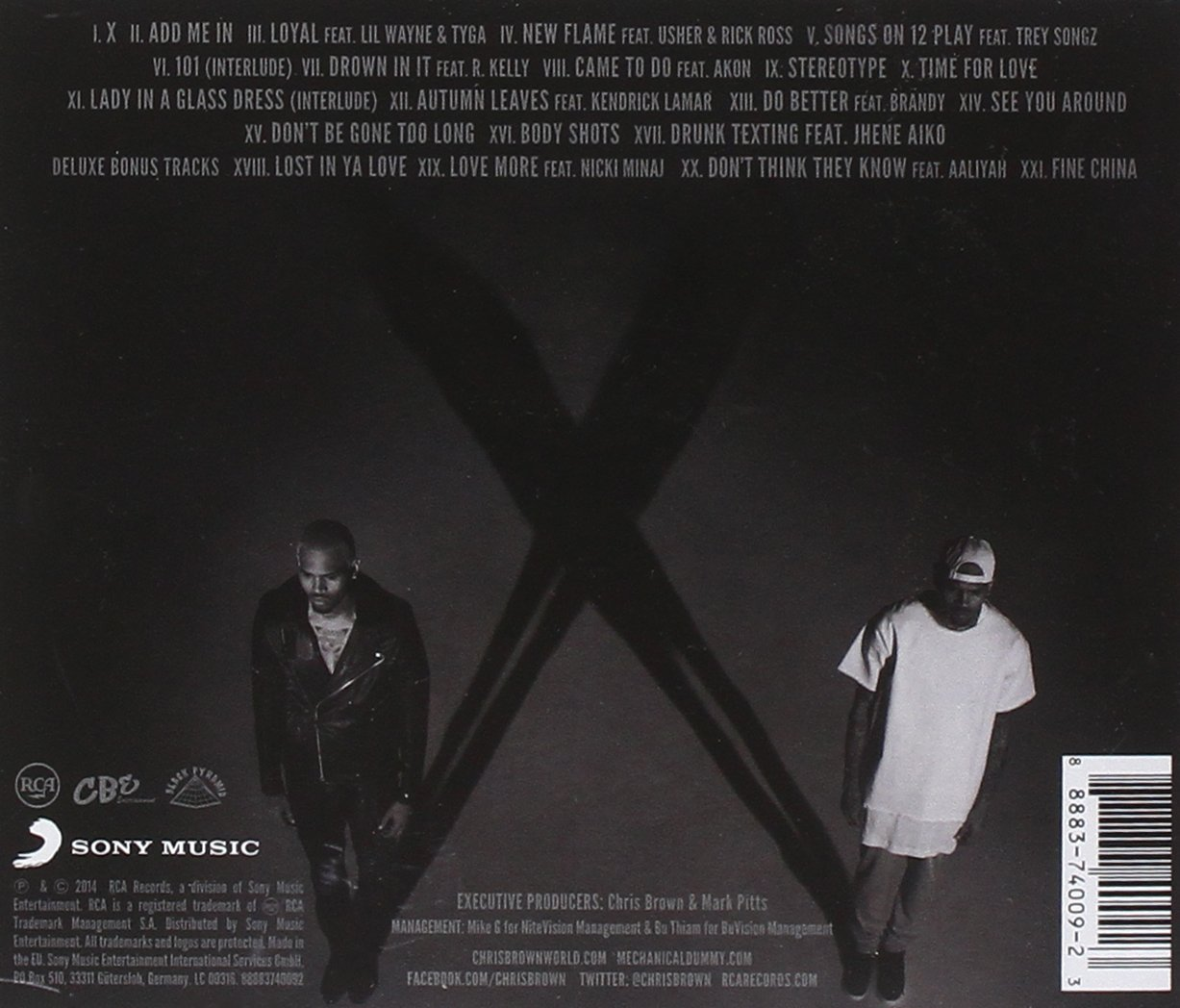chris brown x deluxe edition - photo #14