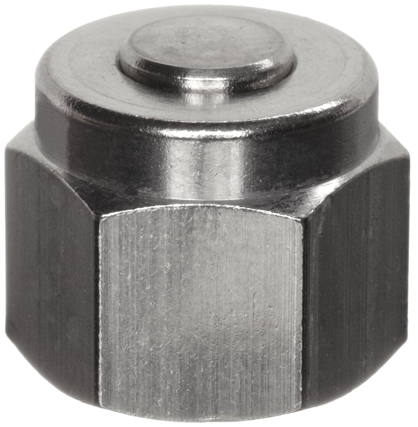 Parker A-Lok 8BLP8-316 316 Stainless Steel Compression Tube Fitting, Cap, 1/2'' Tube OD by Parker