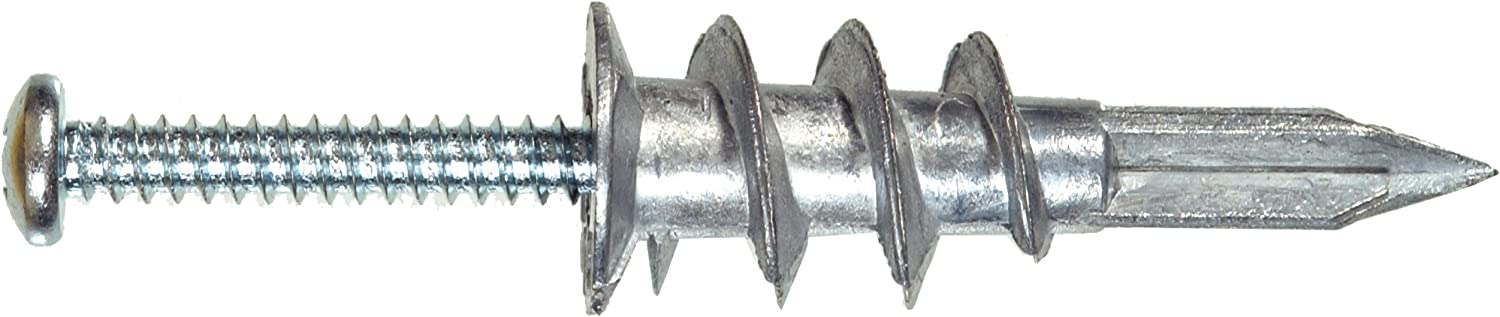 8 x 1.25 in Hillman 41408 Self-Drilling Hollow Wall Anchor