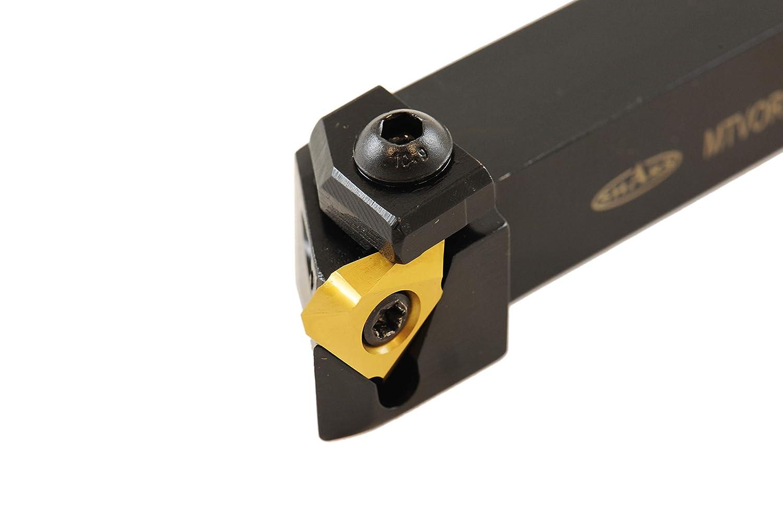 SHARS 5//8 RH MTVO Indexable Right Hand External Threading Grooving Tool Holder TNMC 404-1843 P