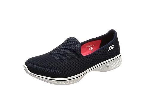 4d9e9d344fda Skechers Women's Go Walk 4-Propel Slip On: Amazon.co.uk: Shoes & Bags