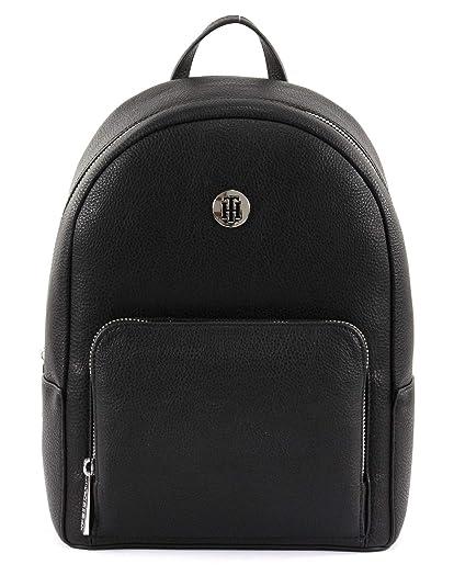f4028f3ee4 Tommy Hilfiger Th Core Mini Backpack, Women's Black, 12x27x21 cm (B x H T