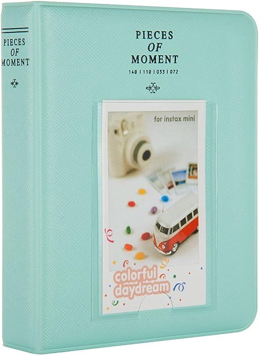 64 emplacements Album livre pour Fujifilm Instax Mini 7 S 8 9 70 90 Film Polaroid photos
