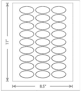 0b59d93922e99 Amazon.com : 100 Sheets of White Laser Inkjet 3.25x2.25 Square-Edged ...