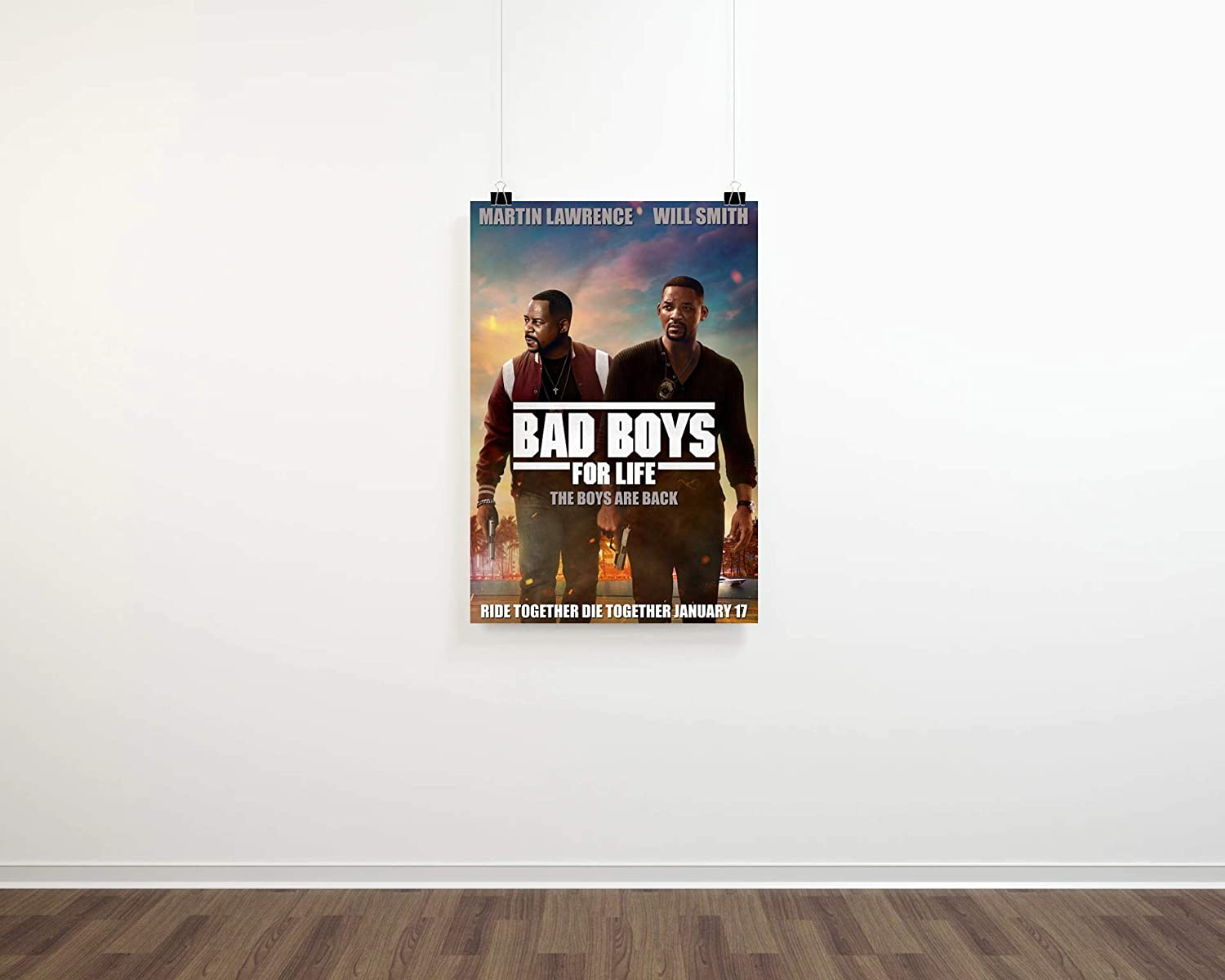 New Bad Boys for Life 2020 Movie TV Poster Size 16×24 24×36