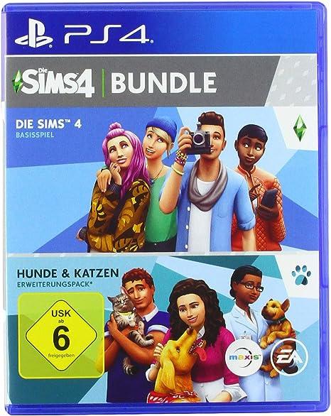 Die Sims 4 - Hunde & Katzen Bundle - PlayStation 4 [Importación ...