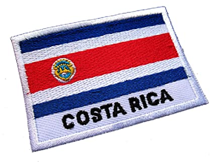 e28d92c5323b Amazon.com: Republic of Costa Rica Costa Rican Tico National Flag ...