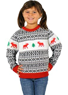holiday reindeer sweater in antique childrens ugly christmas sweater - Childrens Ugly Christmas Sweaters
