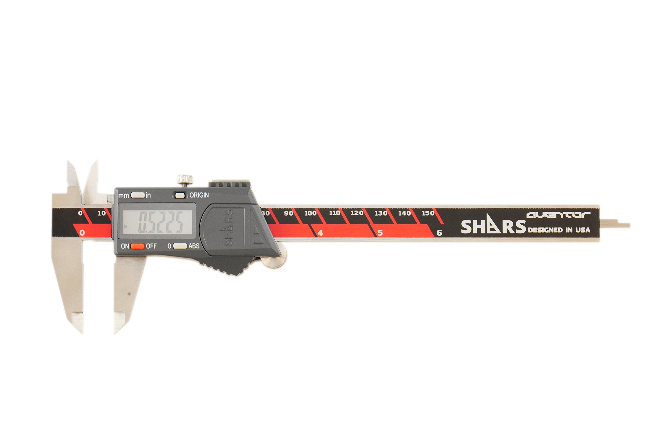 AVENTOR 6'' DPS IP54 ELECTRONIC CALIPER WITH ANAB ACCREDITED ISO17025 CERTIFICATE