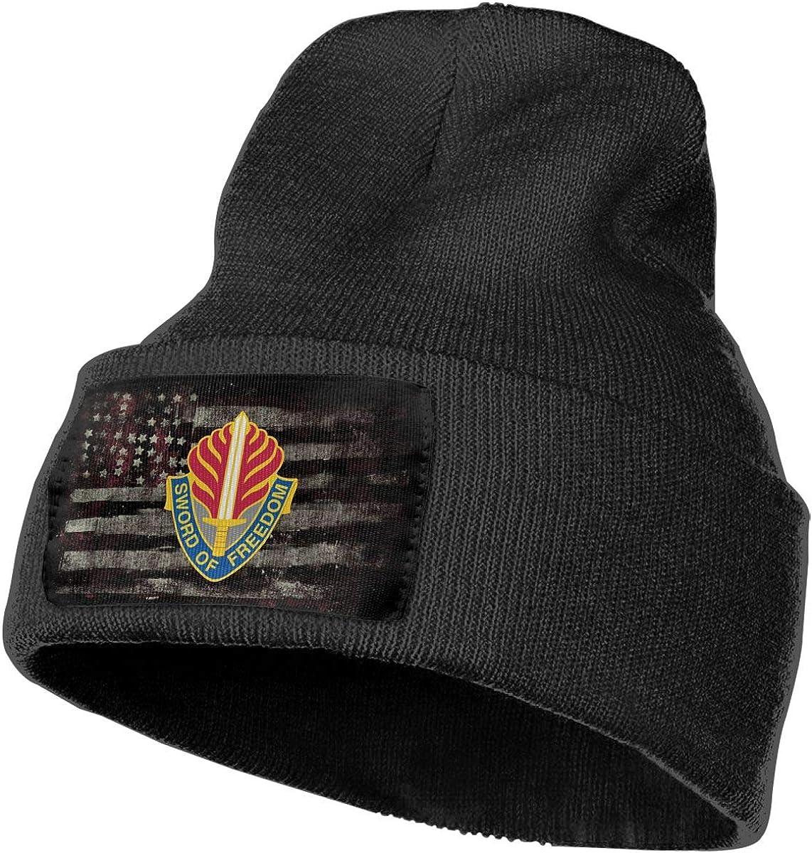 US Army Europe Command Unit Crest Mens Beanie Cap Skull Cap Winter Warm Knitting Hats.