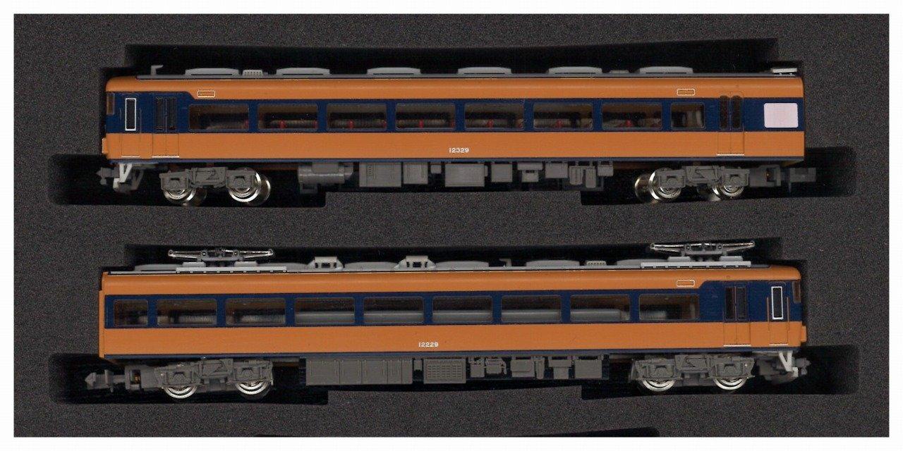 グリーンマックス Nゲージ 4551 近鉄12200系スナックカー増備車 未更新車 先頭車2両セット (動力付き) B00L9YSIUK