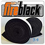 FireBlack34 for Big Green Egg Small Medium & Mini