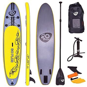 costway Remo tarjeta tabla de surf de remo de Sup tarjeta tabla Stand Up tarjeta Juego 335 * 76 * 15 cm hinchable: Amazon.es: Deportes y aire libre